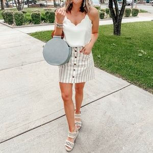 Old Navy button front skirt